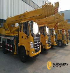 truck crane CATHEFENG 16T