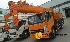 truck crane CATHEFENG 12T