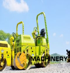used machinery vibratory rollers Benford TV1200DR tandem roller
