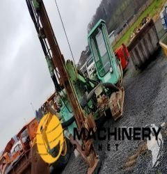 Montabert H100 drill Sprengloch used to sell