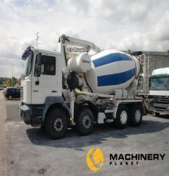 8cbm Mixer with 26M Schwing Pump on Man Truck