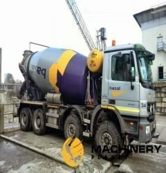 14cbm stetter Mixer on Mercedes Truck