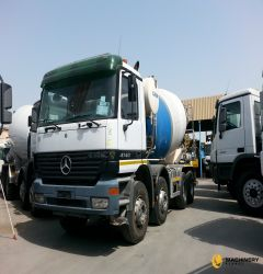12cbm Calbre Mixer on Mercedes Truck