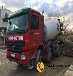 10cbm Liebherr Mixer on Mercedes
