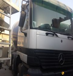 9cbm Stetter Mixer on Mercedes Benz