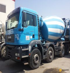 9cbm Stetter Mixer on Man Truck