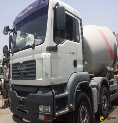9 CBM Stetter on MAN Truck