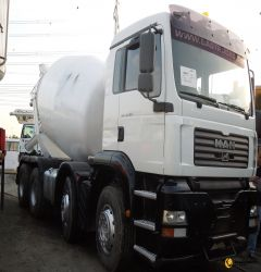 9cbm Cifa Mixer on Man Truck