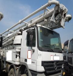 52M Schwing Concrete Pump on Mercedes Benz
