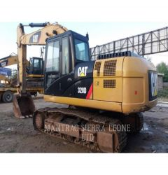 CATERPILLAR 320 D 2013 TRACK EXCAVATORS 4301003