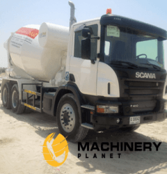 SCANIA P410 CONCRETE MIXER 2016