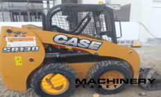 CASE  SKID STEER ROLLER SR 130 2016