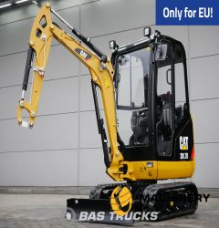 Caterpillar 301.7D CR Mini excavator Track Caterpillar 301.7D CR View all specifications